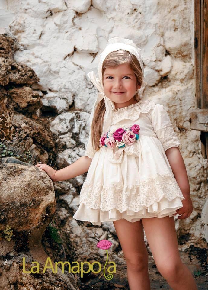 Ropa de ceremonia niñas Andalucía