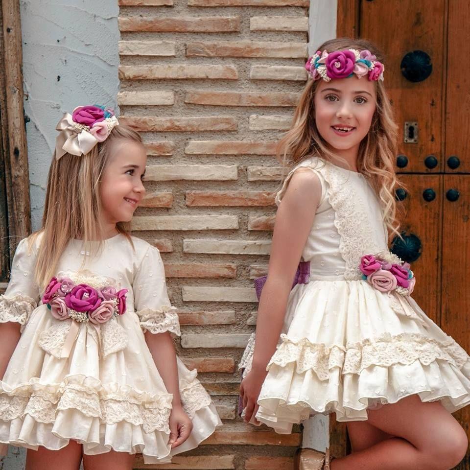 Moda infantil comunión y ceremonia Andalucía