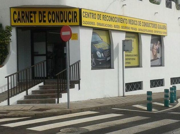 Centro Reconocimiento Médico Guajara, fachada