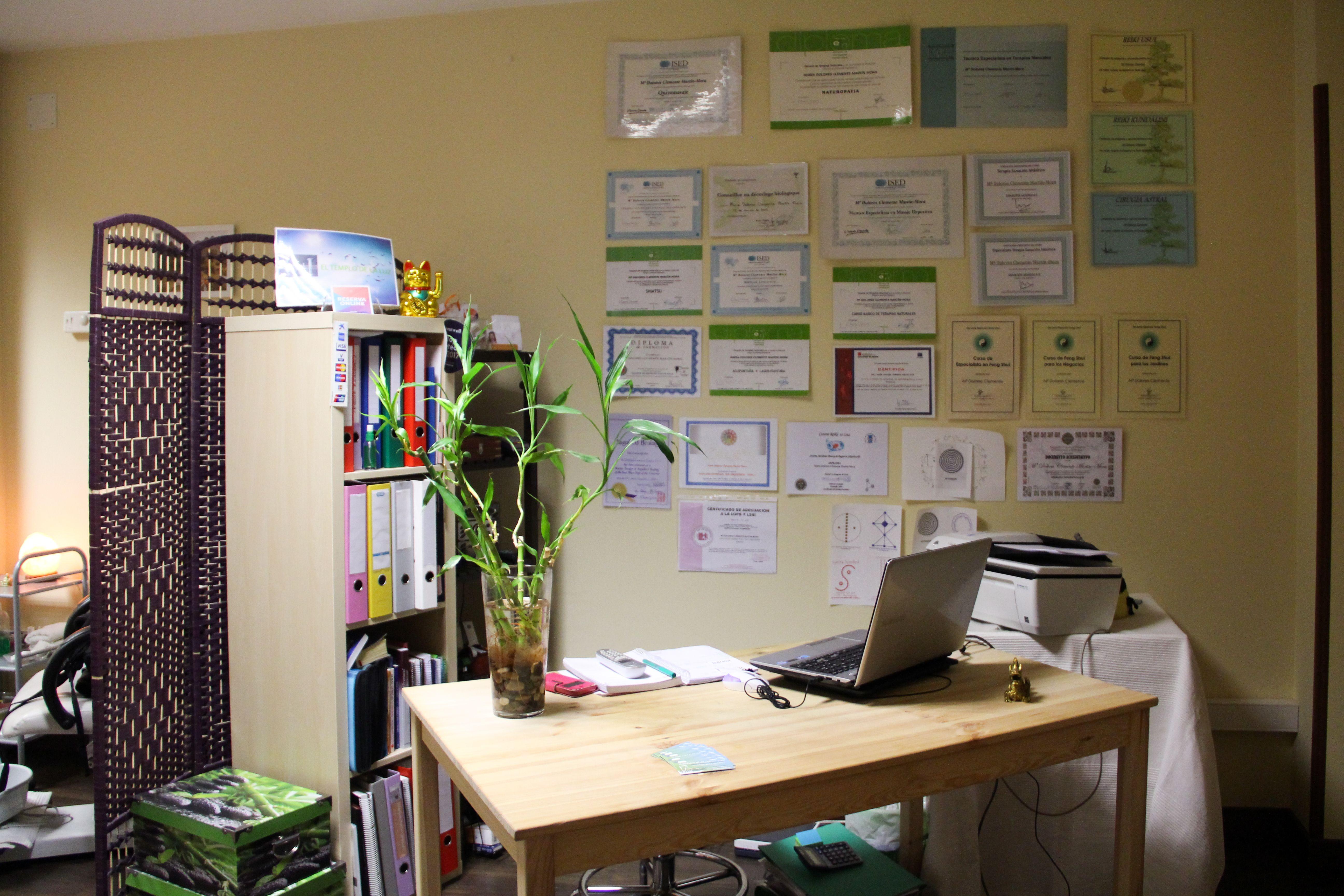 Oficina de nuestro centro de belleza