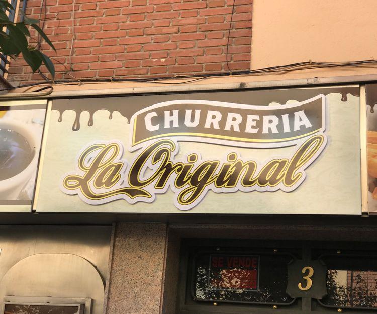 Nuestra churrería en Madrid