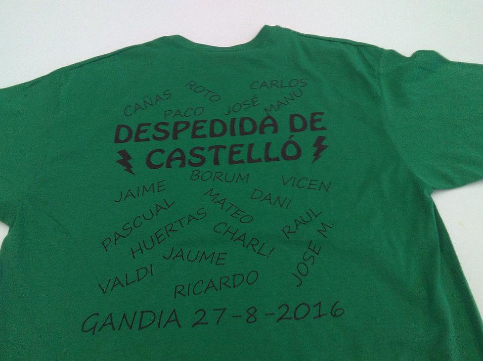 Camiseta serigrafiada