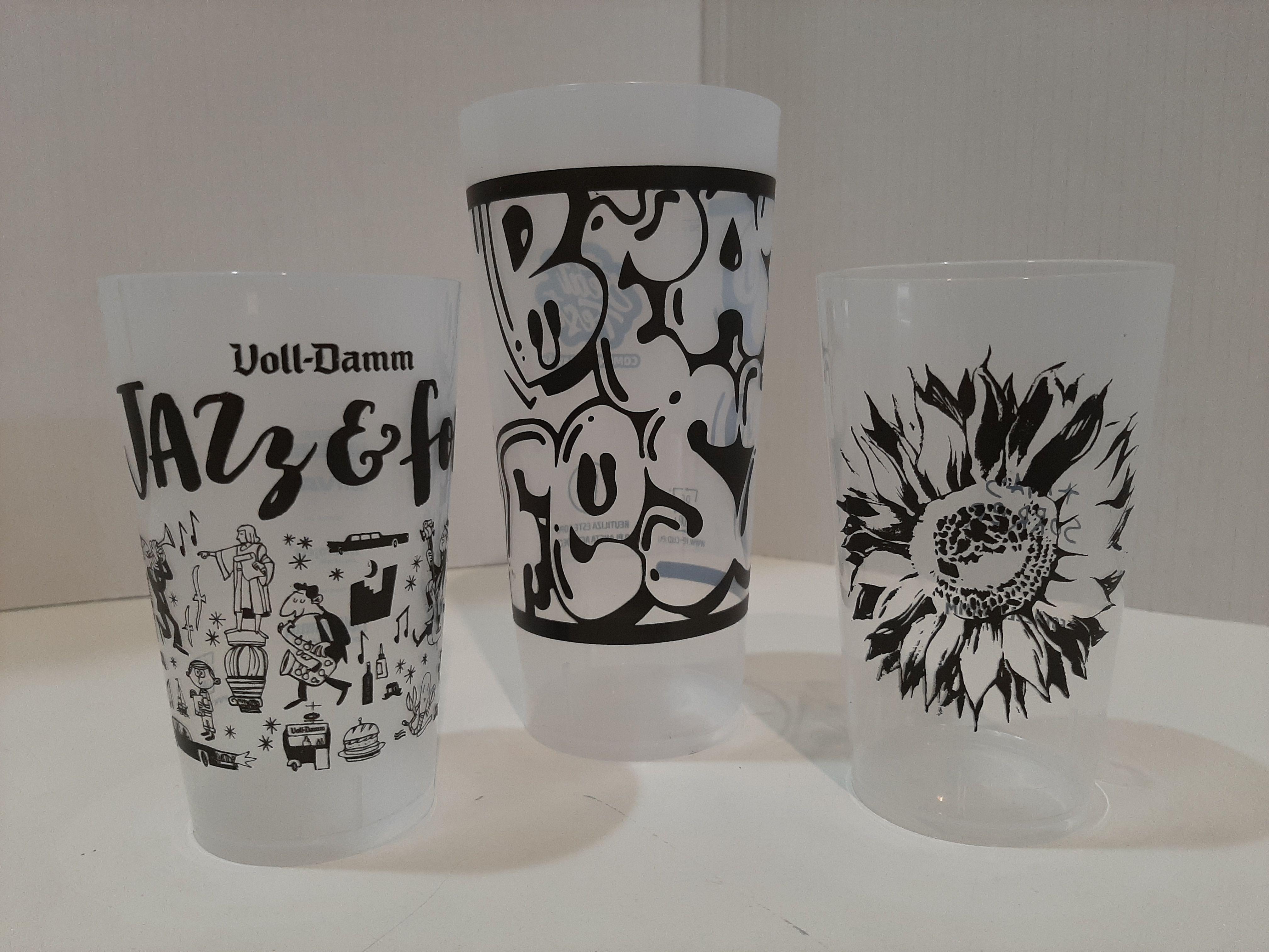Serigrafía de vasos
