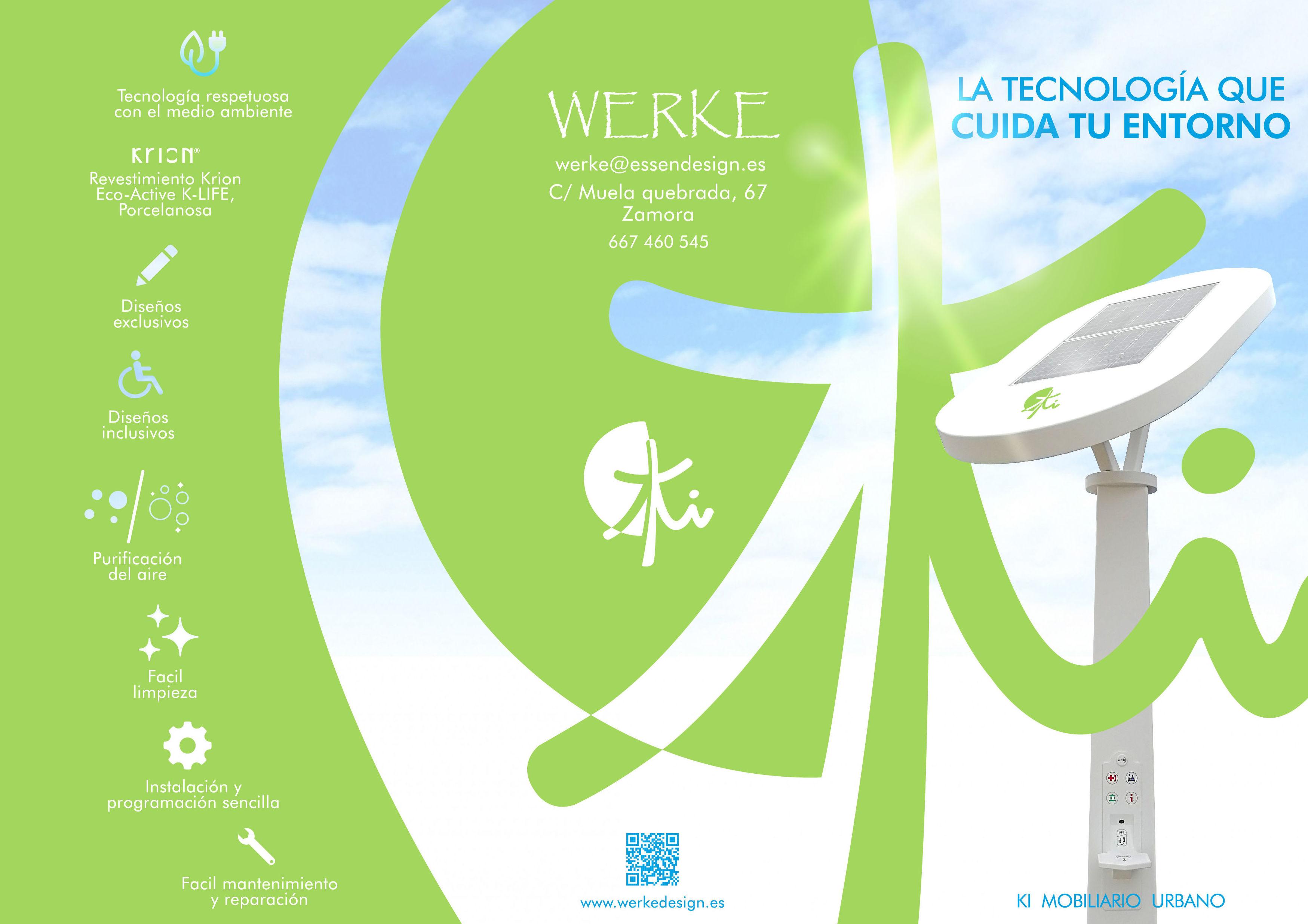 Mobiliario Urbano: Servicios de Werke Design