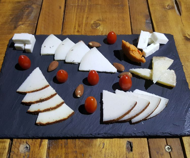 Cheese boards as starter