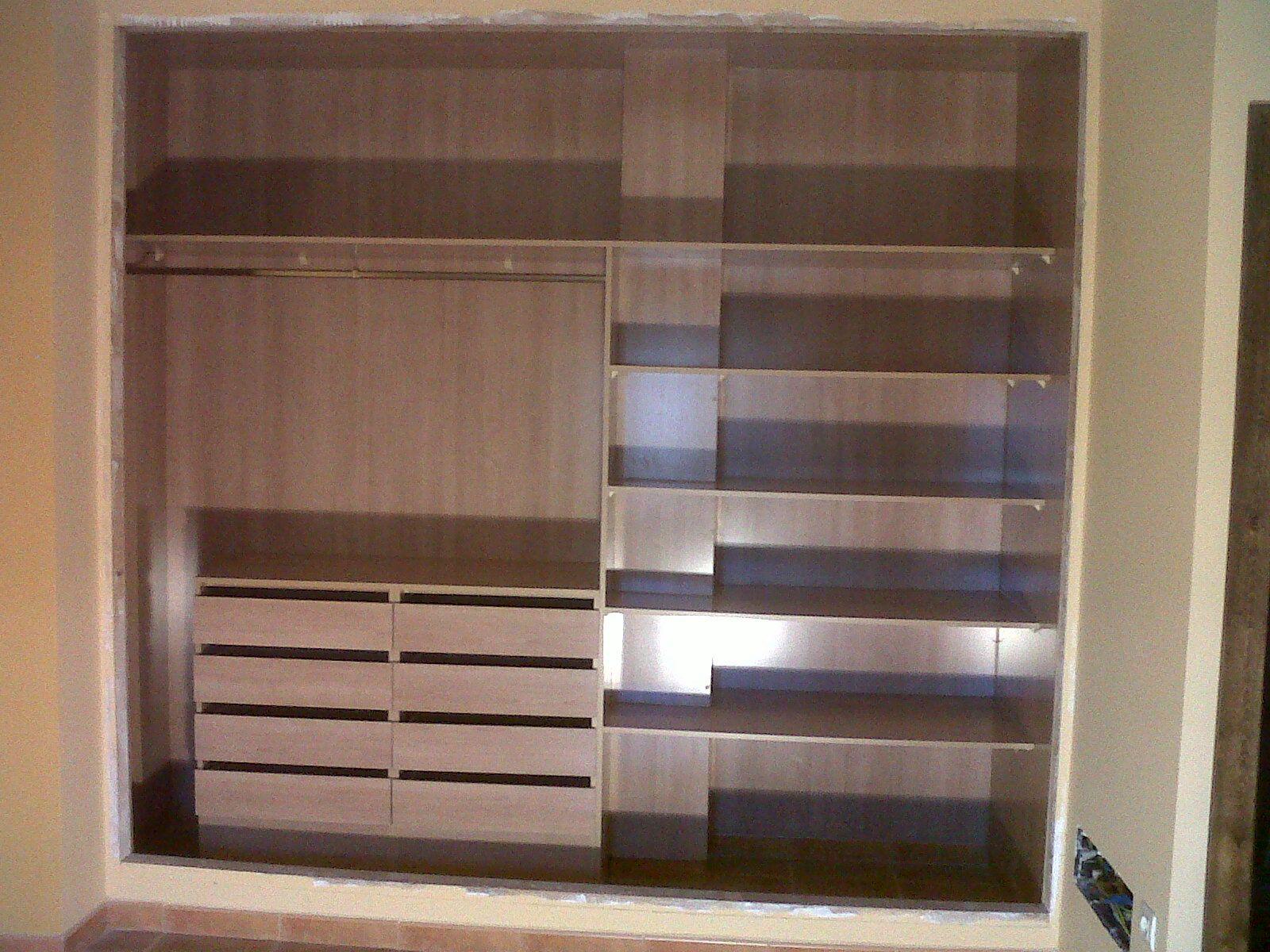 Interiores de armario en Almería