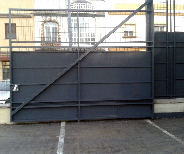 Carpintería metálica en Sevilla