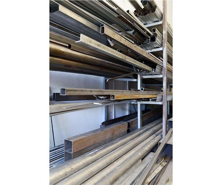 Amplio stock de materiales