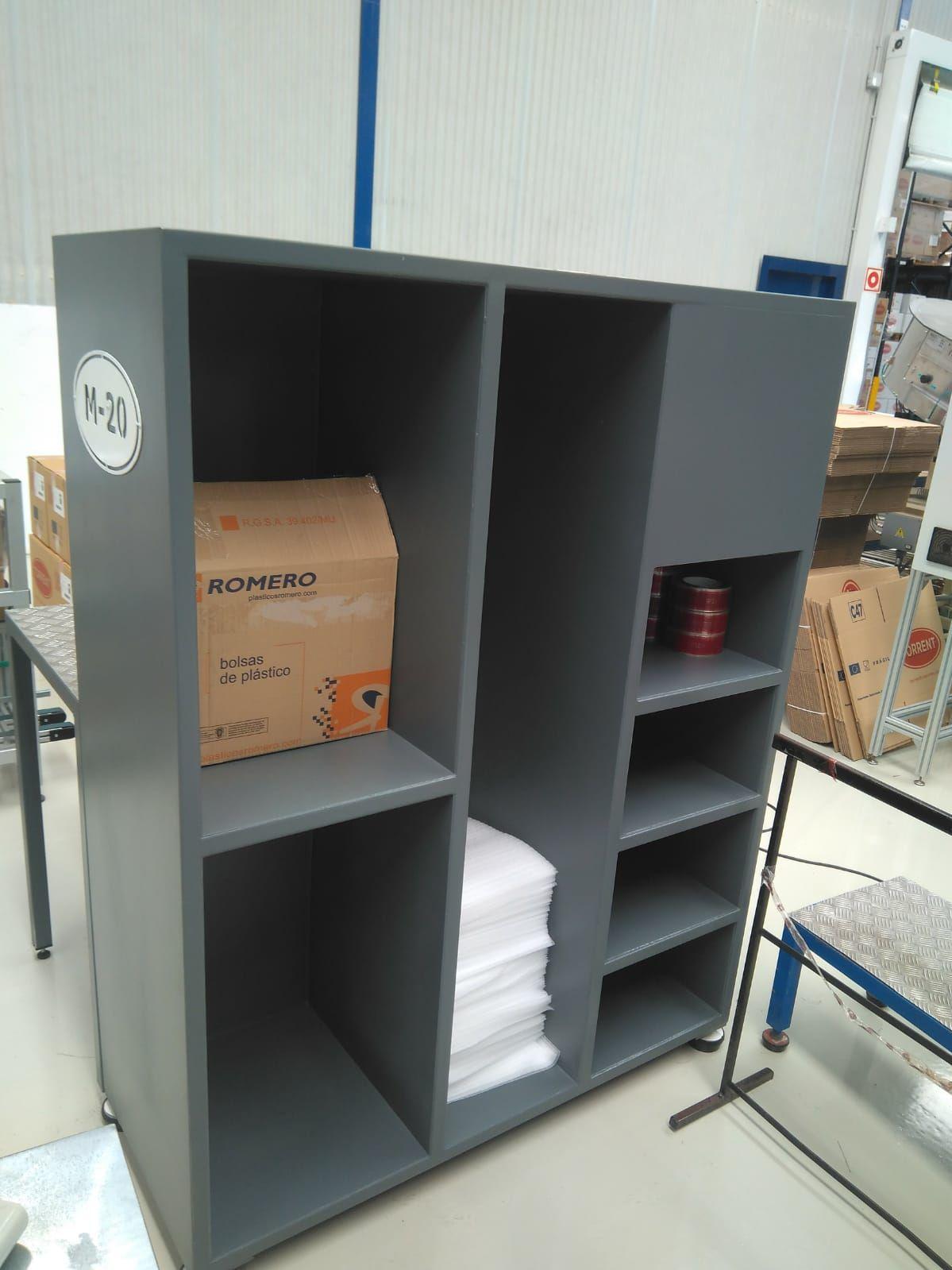 Mobiliario para almacenaje