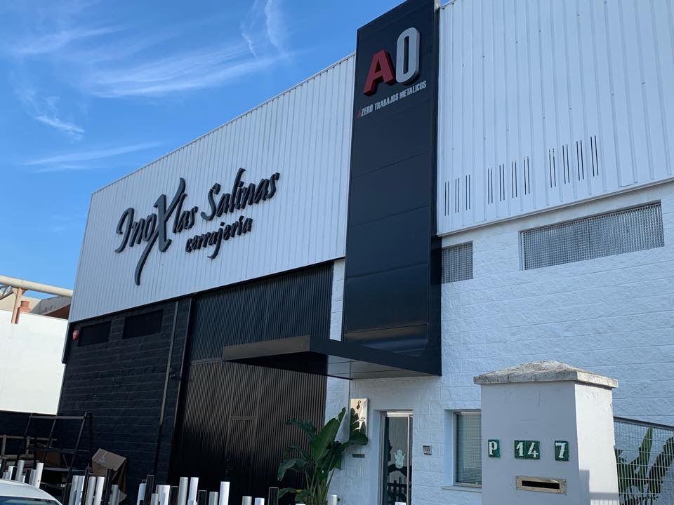 Foto 2 de Carpintería metálica y especialistas en acero inoxidable en  | Cerrajería Inox Las Salinas