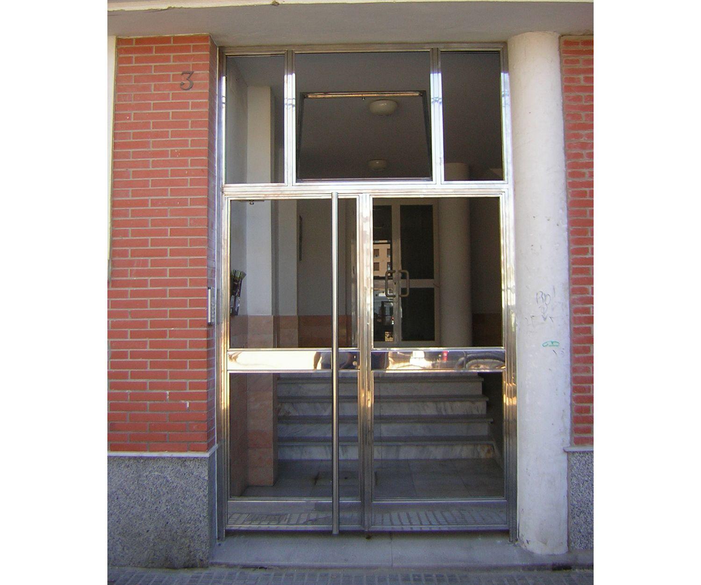 Puertas para portales en Cádiz