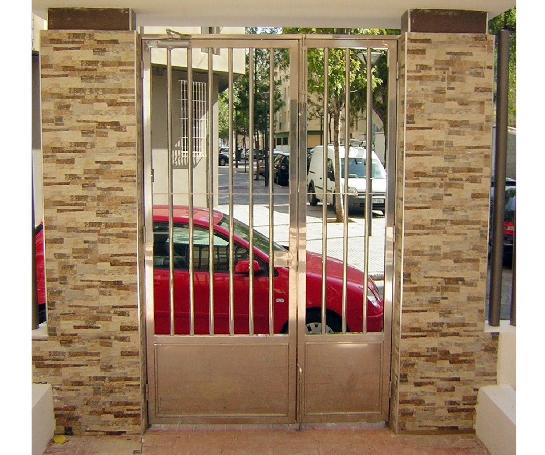 Empresa especializada en trabajos de acero inoxidable en Cádiz