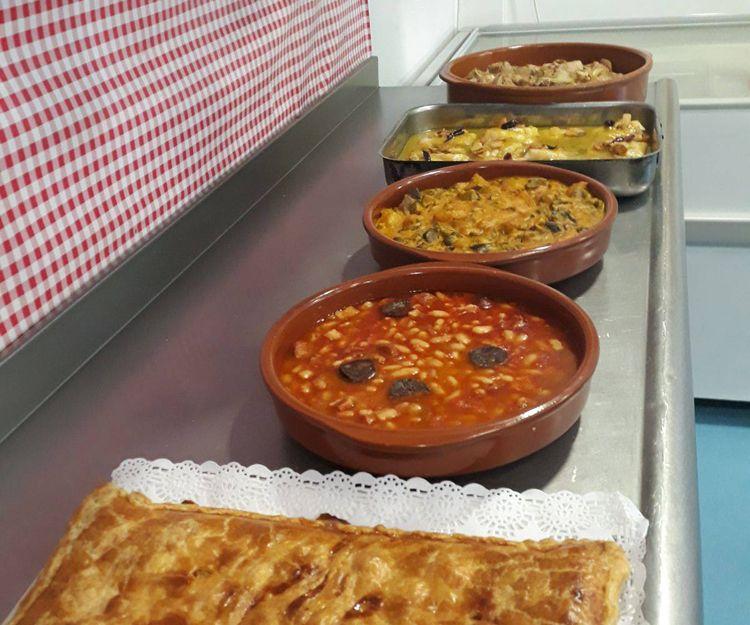 Comidas caseras para llevar en Málaga