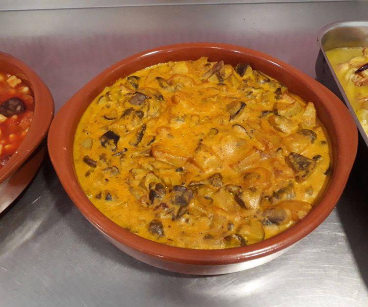 Arroz al horno para llevar en Málaga
