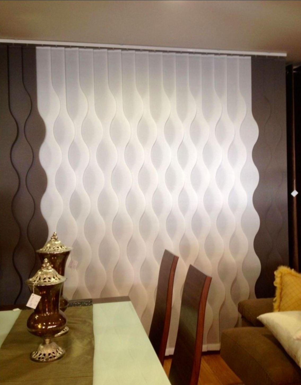 En cortinas Mari Carmen podrás encontrar las últimas novedades en verticales con formas , calle cartaya mostoles