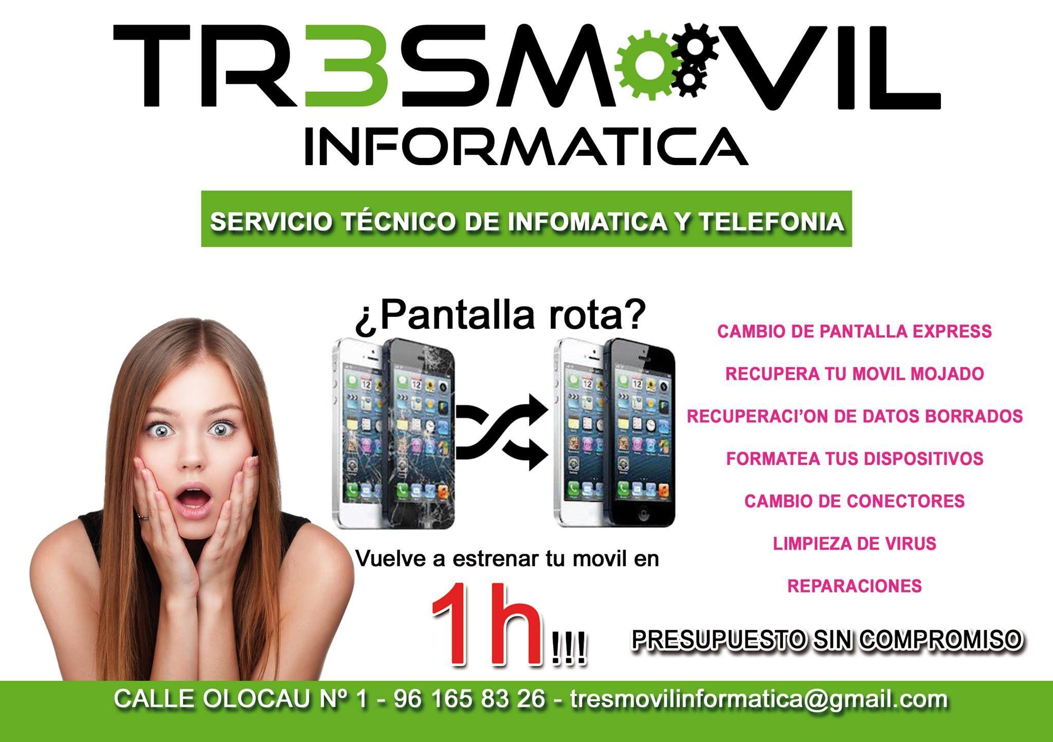 Foto 1 de Servicios informáticos en L'Eliana   Tres Móvil Informática