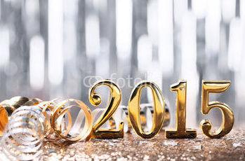 Feliz Año Nuevo 2015. Imagen Fotolia