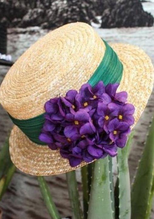 sombreros y tocados para fiestas en Logroño