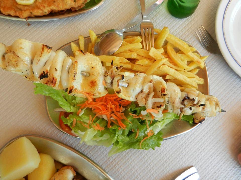 Pescados y mariscos: Carta de El Mago Karlín Restaurante Melenara