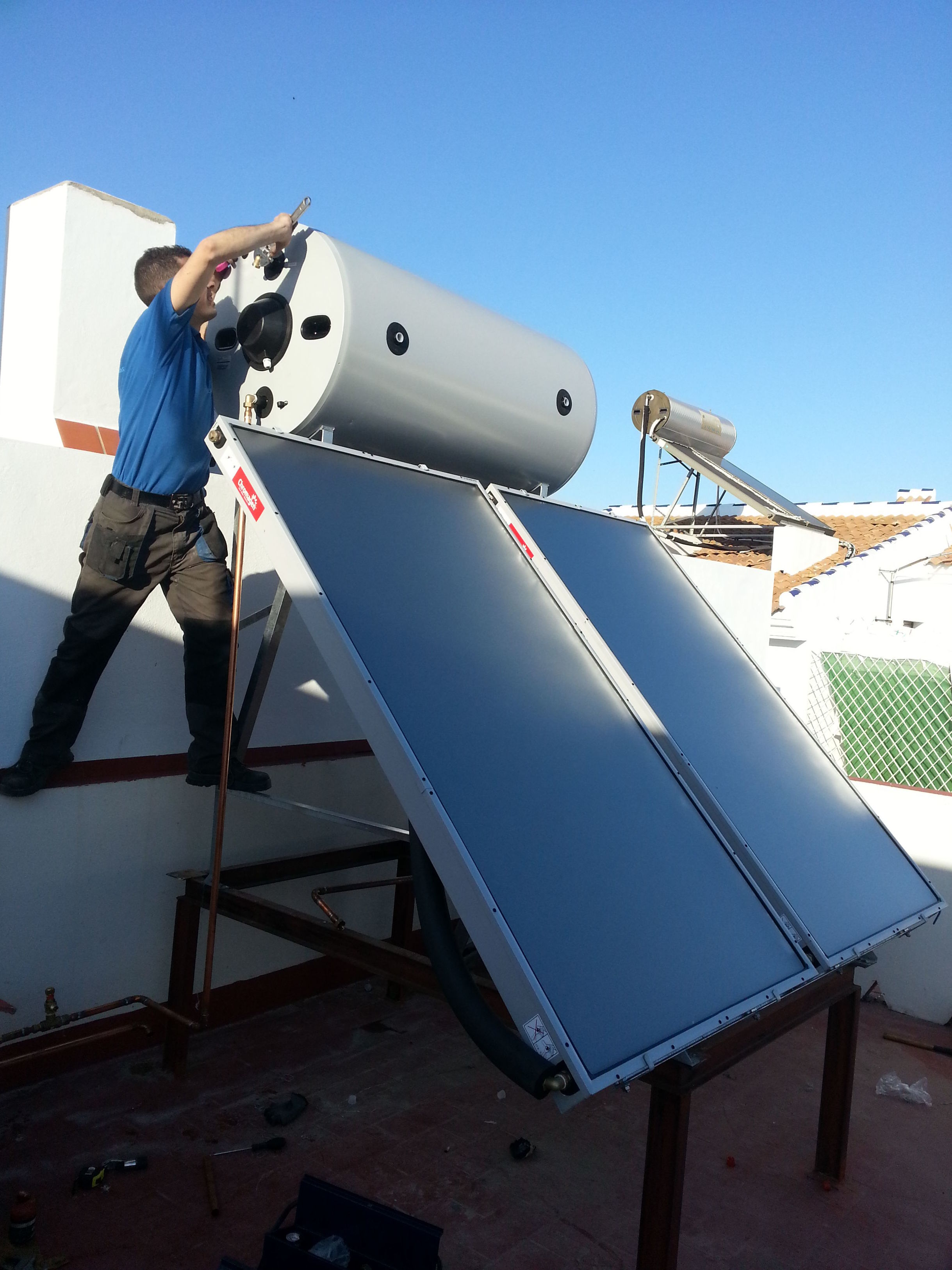 Instalaciones de energía solar térmica en Huelva