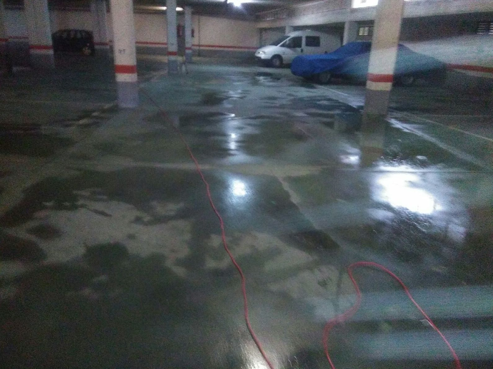 Limpieza de Garajes.