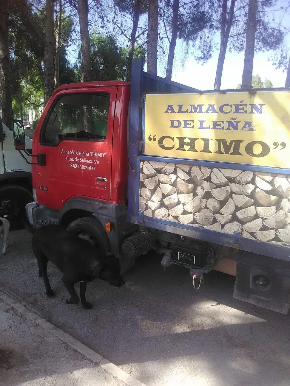 Venta de leña todo el año en Alicante