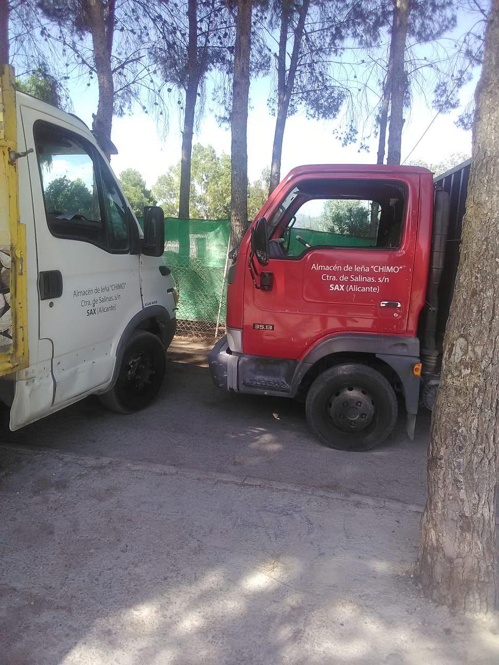 Venta de leña para particulares en Alicante