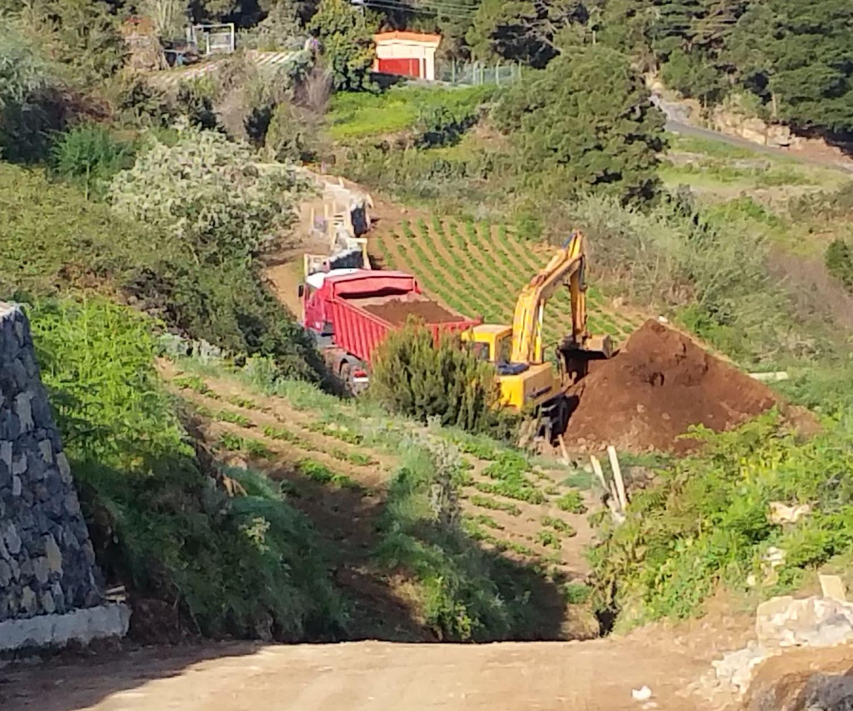 Empresa de excavaciones en Tenerife