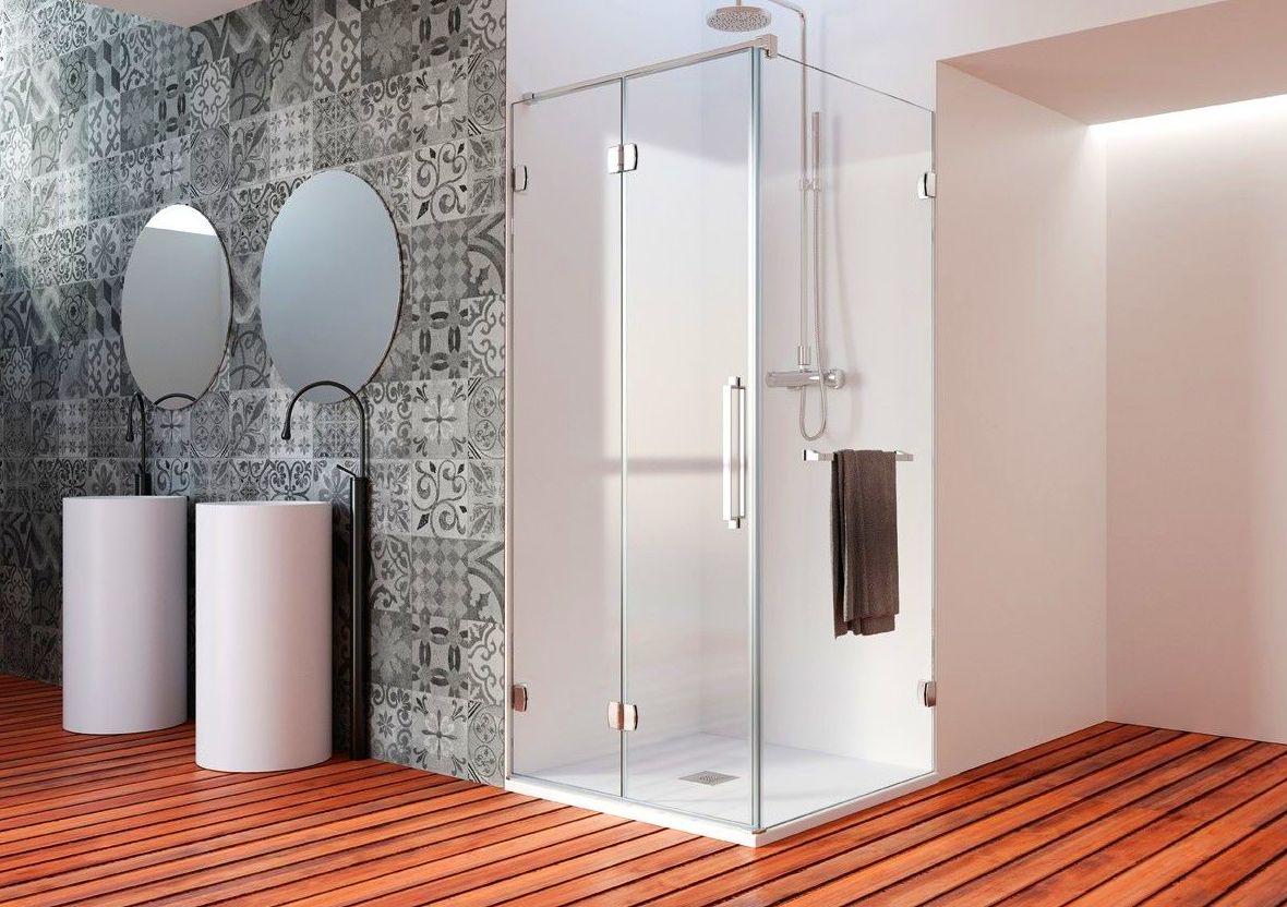 Baño con Mampara Plegable New Glass 218