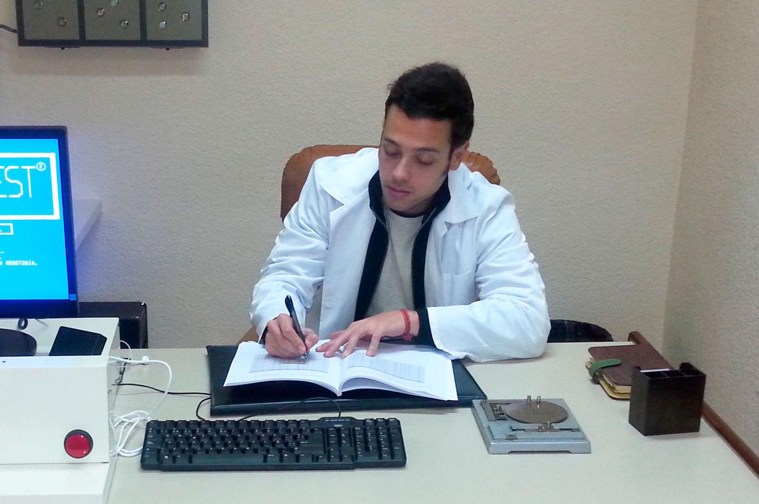 Consulta de psicología