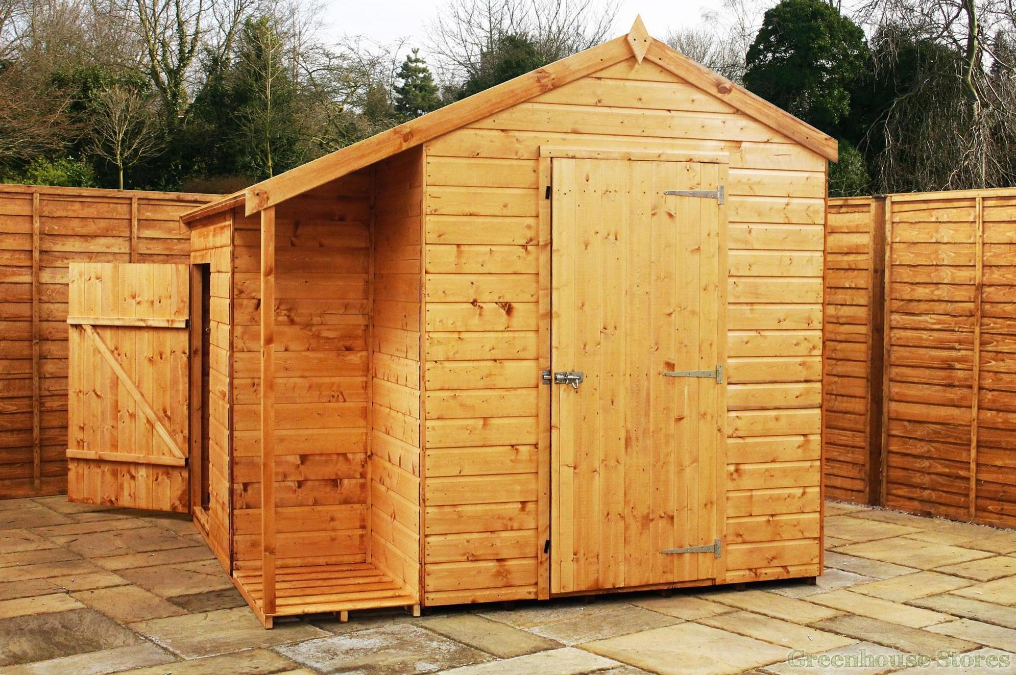 Casetas de maderas tratadas