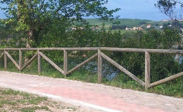 Vallas de madera en Málaga