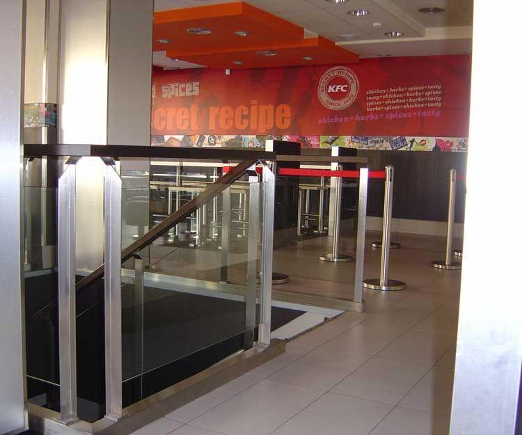 Barandilla para local comercial en Madrid