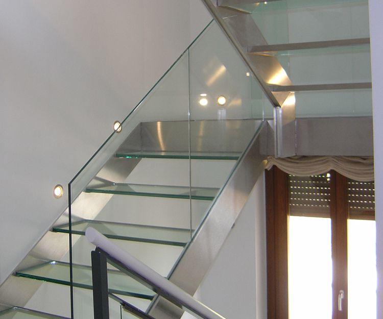 Barandillas de cristal para vivienda