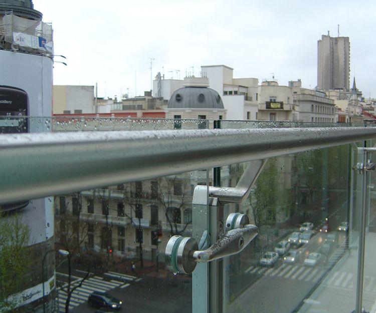 Barandillas para terrazas de organismos oficiales