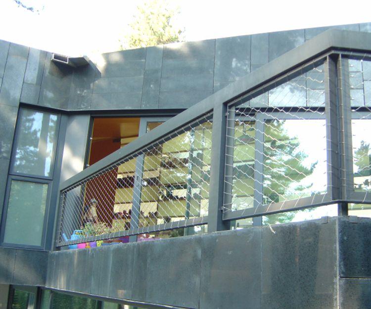 Barandillas de acero inoxidable para edificios