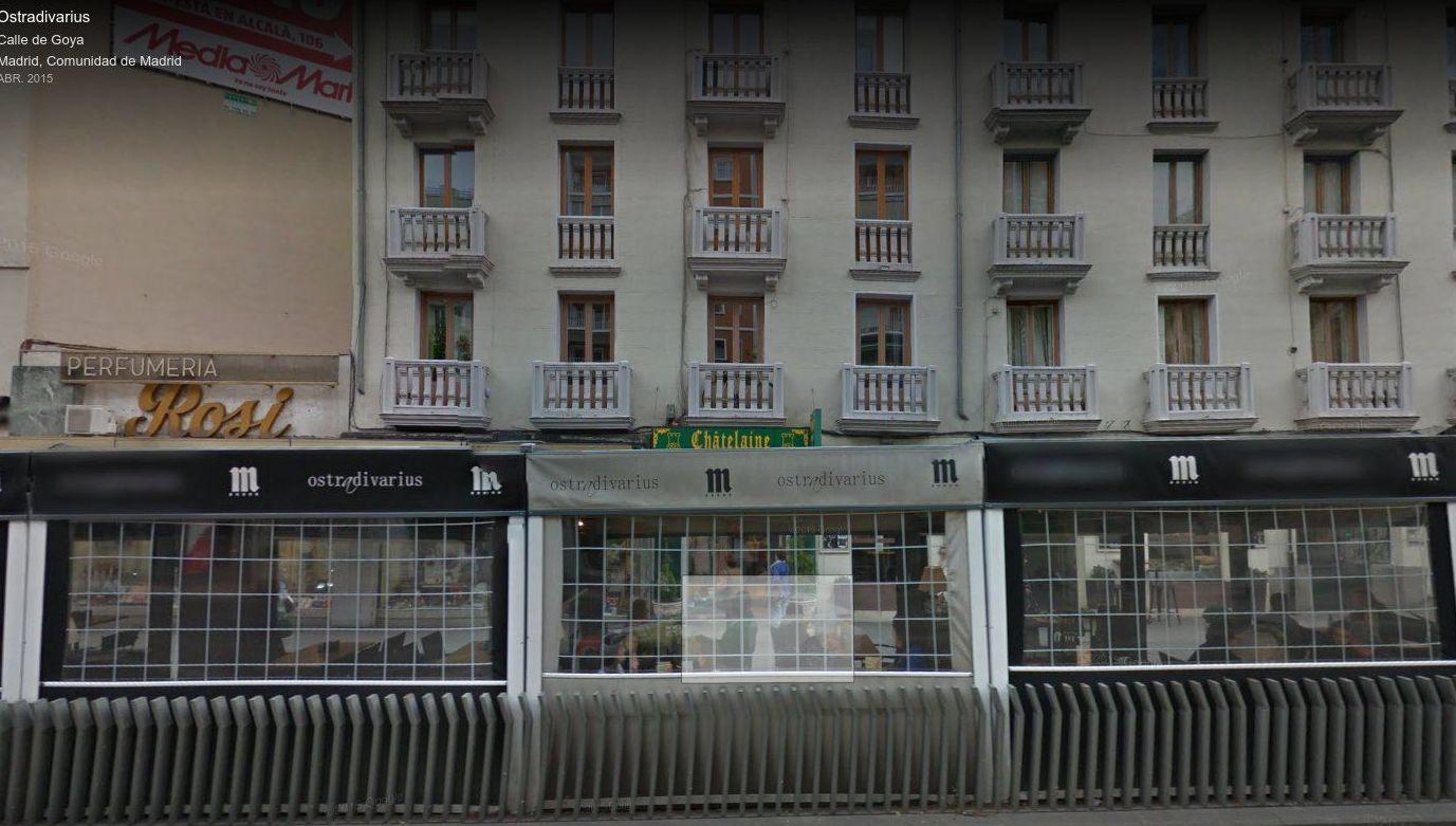 Restaurante con terraza en el centro de Madrid