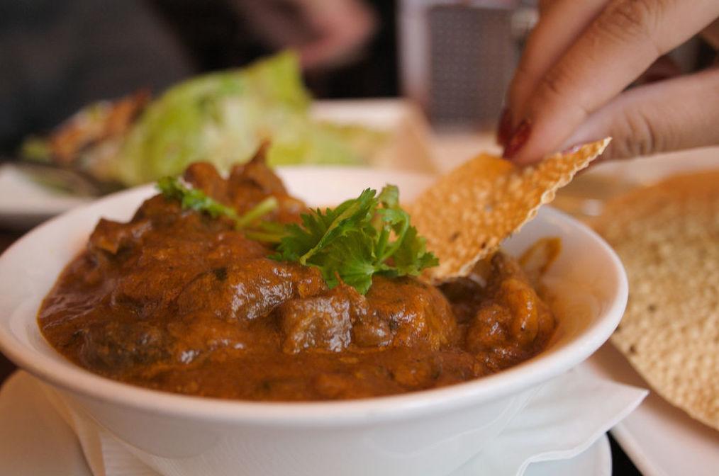 Platos de cordero / Lamb Dishes: Carta de Atocha Tandoori Restaurante Indio