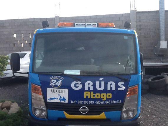 Servicios de rescate en carretera en Tenerife