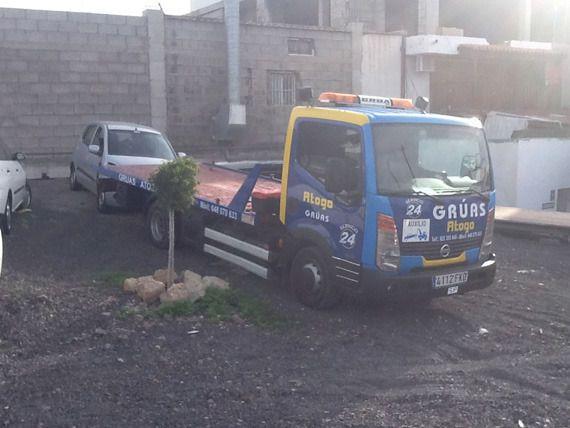 Servicios de asistencia en grúa en Tenerife