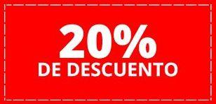 20% descuento permanente