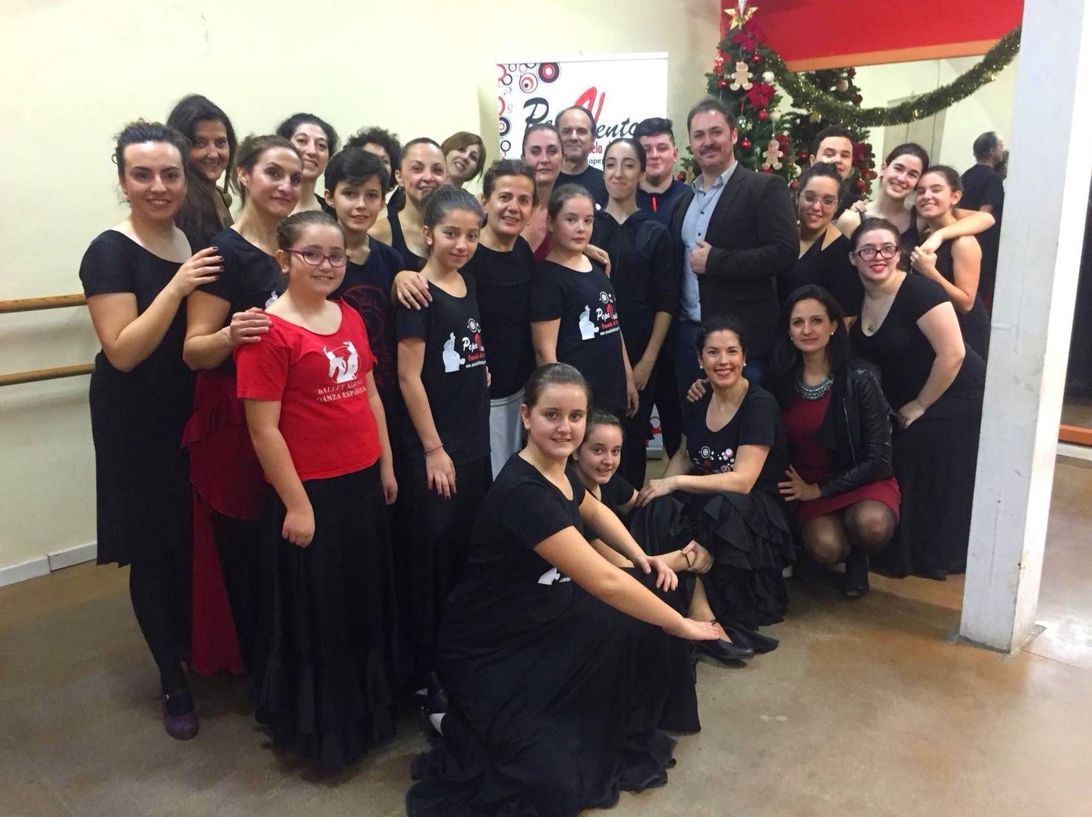 Masterclass Felisa de la Cruz. Villancicos Flamencos.. Navidad 2018.