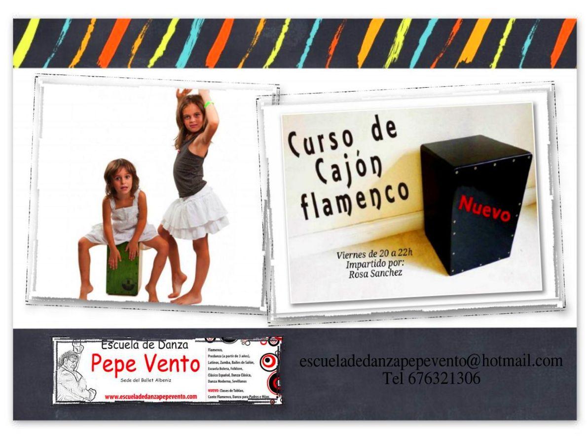 Nuevas Clases de Cajón Flamenco