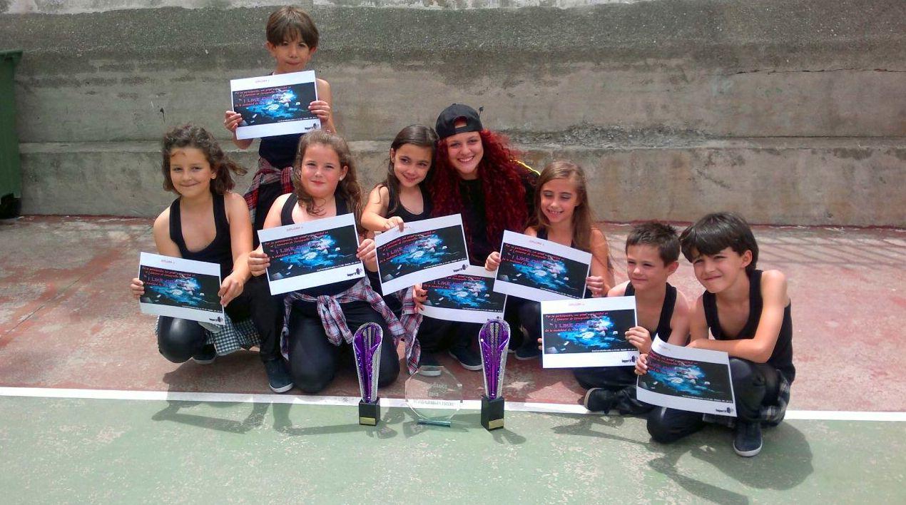 Primer premio Like Danza Fuenlabrada 2015