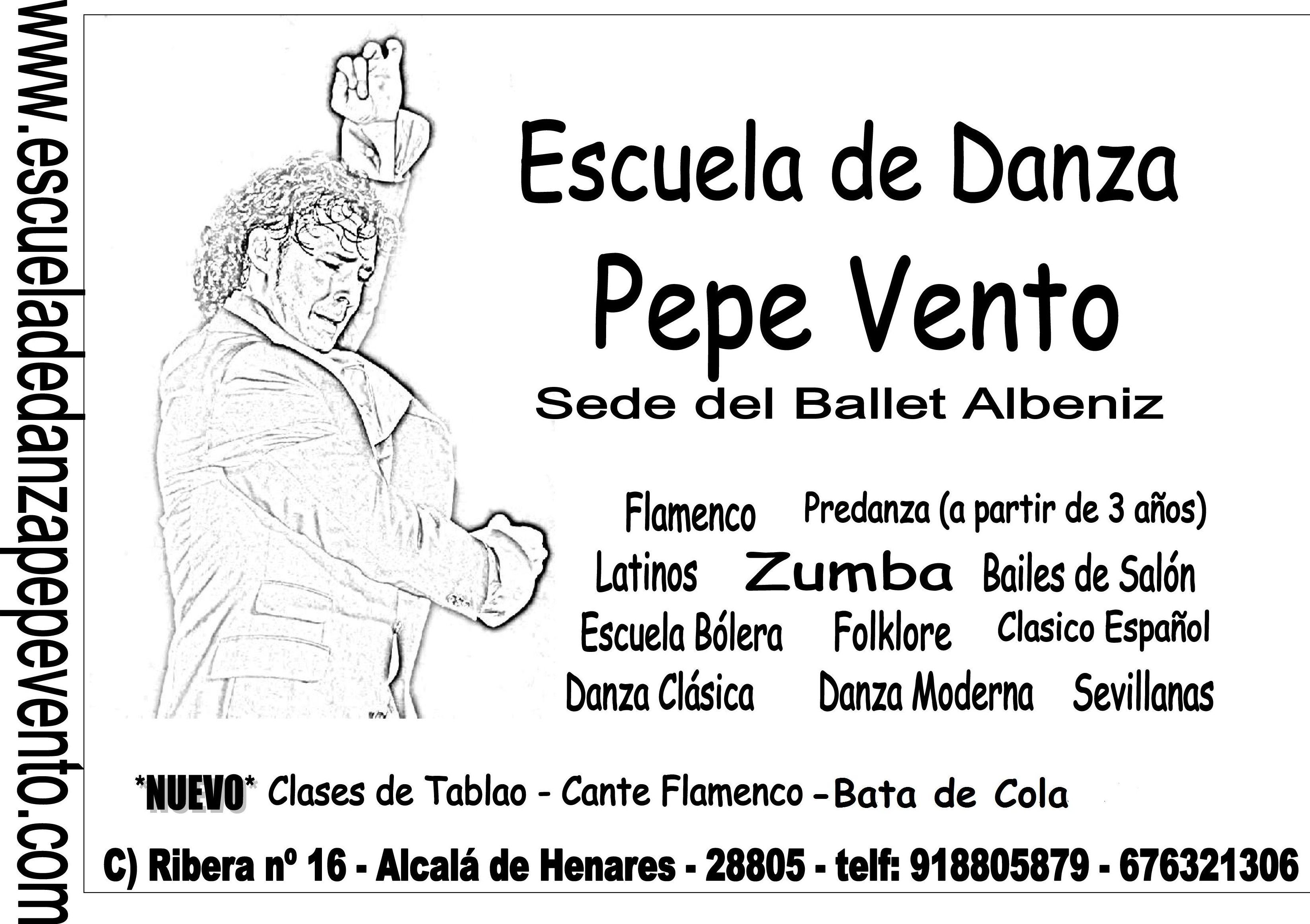 Foto 44 de Escuelas de música, danza e interpretación en Alcalá de Henares | Escuela de Danza Pepe Vento