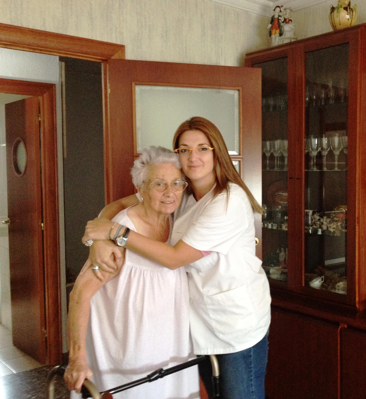 Sra Carmen y Anna