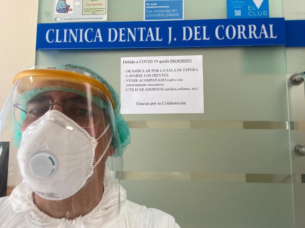 Clínica dental Jorge del Corral   Seguridad Covid-19   Coronavirus en Madrid, Hortaleza Canillas MADRID