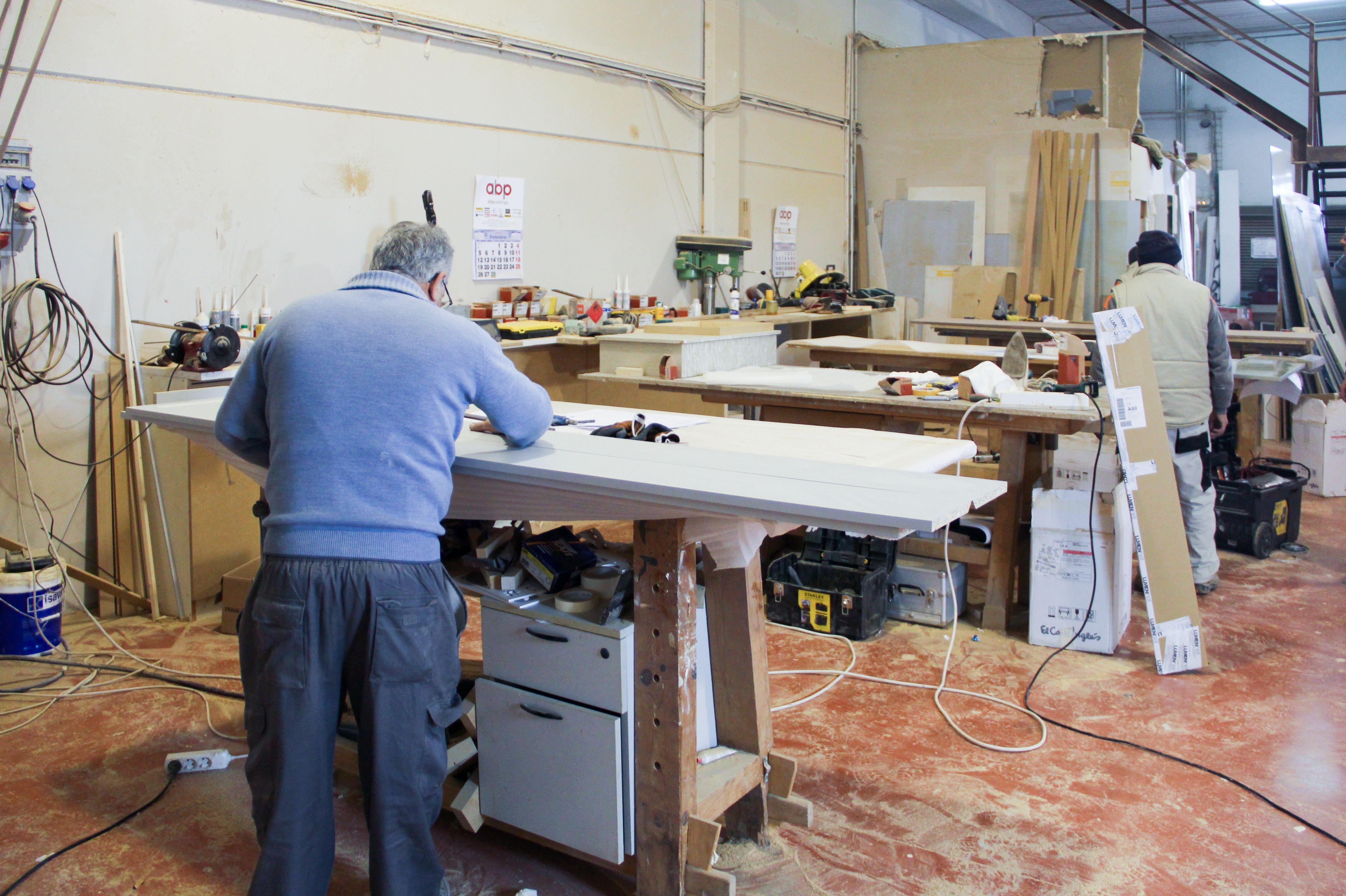 Experimentados carpinteros