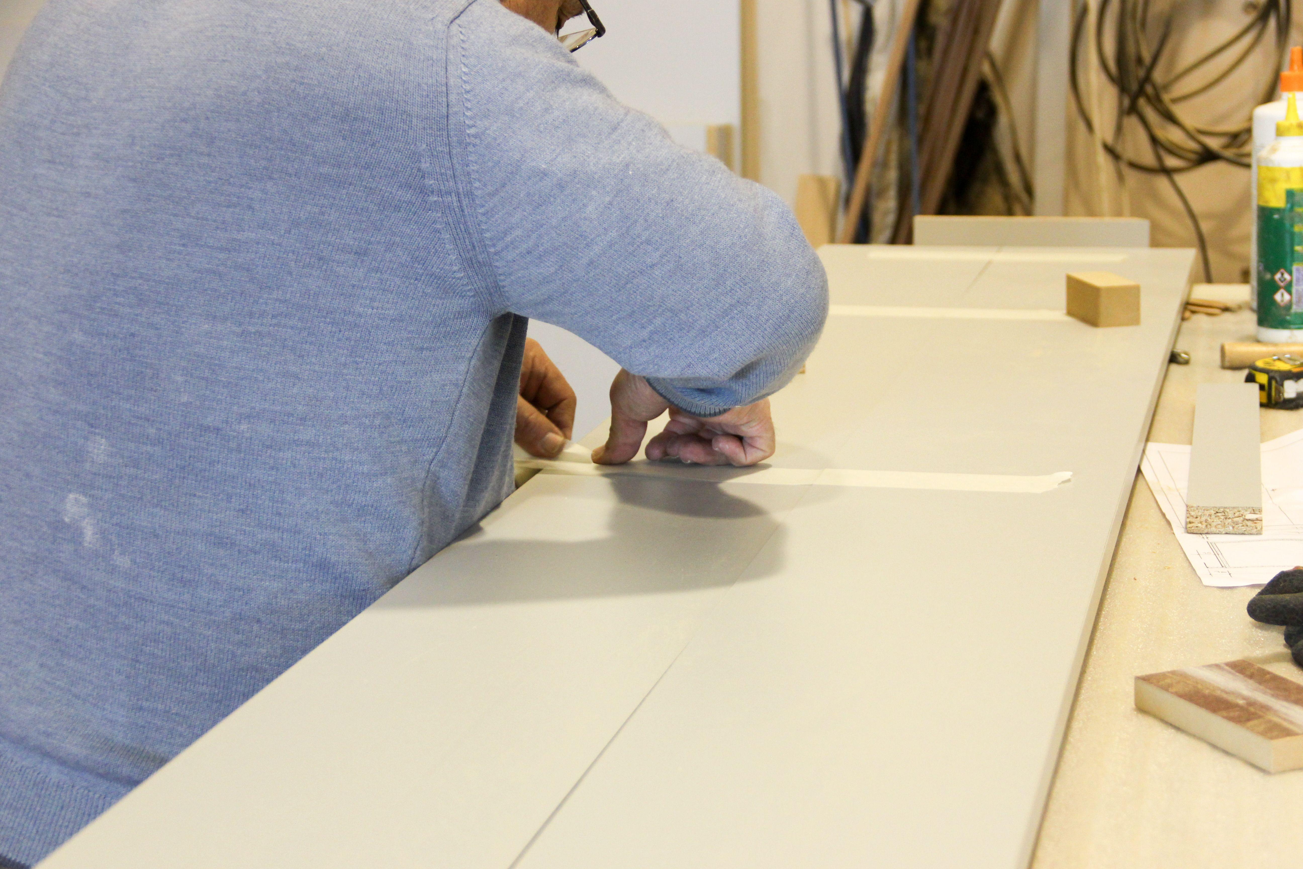 Trabajos de precisión en madera