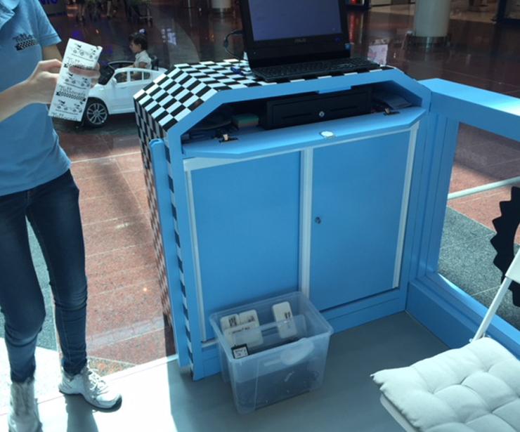 Diseño de mobiliario comercial en Madrid